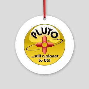NM loves Pluto Ornament (Round)