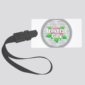 Traverse City - Hibiscus Large Luggage Tag
