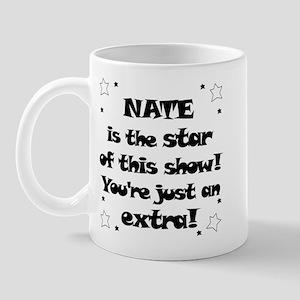 Nate is the Star Mug