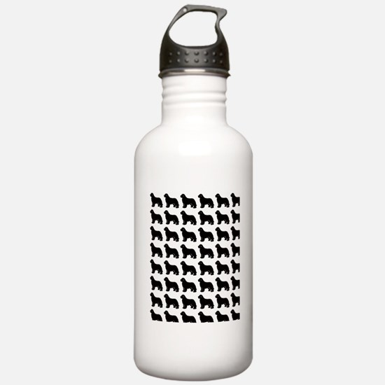 newf silhouette Water Bottle