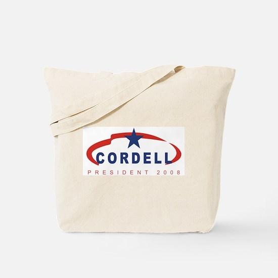 2008 Don Cordell (star) Tote Bag