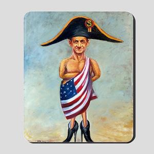 Nicolas Sarkozy: Little Napoleon (Poster Mousepad