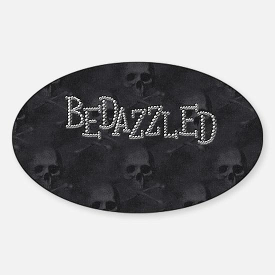 bd_pillow_case Sticker (Oval)