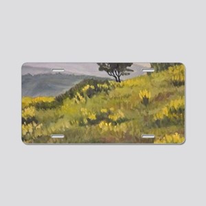 fields for large tray Aluminum License Plate