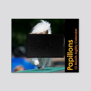 Papillon Agility Calendar Picture Frame