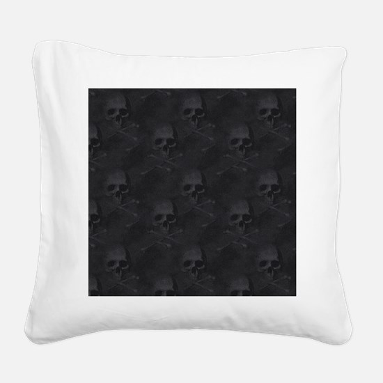 bd2_shower_curtain Square Canvas Pillow
