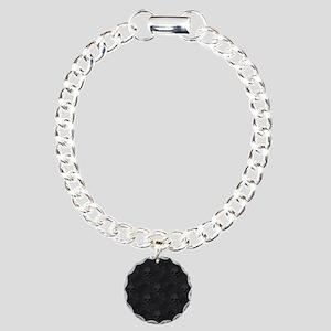 bd2_shower_curtain Charm Bracelet, One Charm