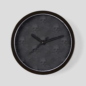bd2_shower_curtain Wall Clock