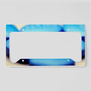 Viagra pills License Plate Holder