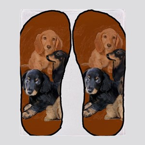 funny dog gifts dachshund Throw Blanket
