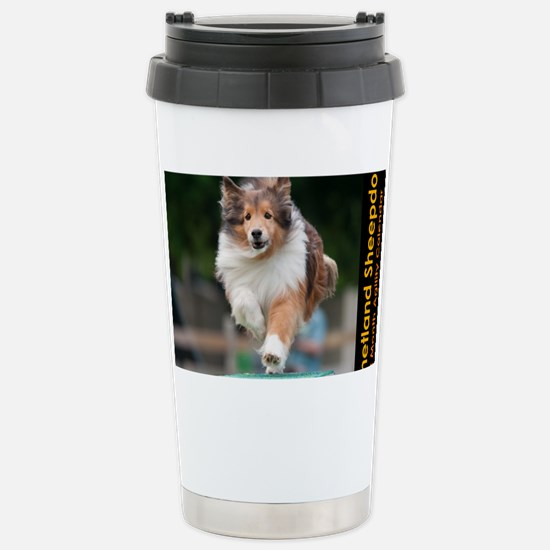 Shetland Sheepdog Agili Stainless Steel Travel Mug