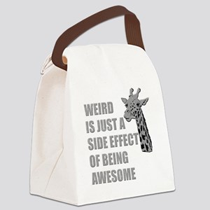 wierd-awesome Canvas Lunch Bag