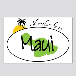 Rather Be In Maui Postcards (Package of 8)