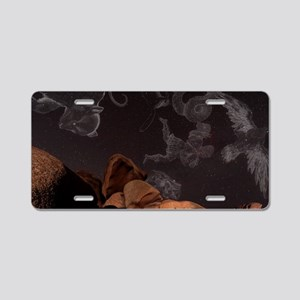 Constellations in a night s Aluminum License Plate