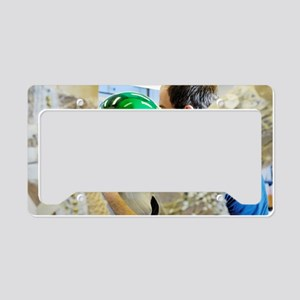 Advanced spacesuit License Plate Holder