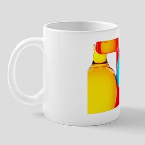 Assortment of laboratory glassware flas Mug