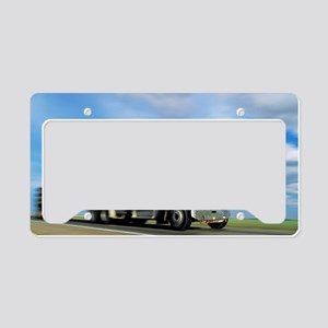 Articulated lorry License Plate Holder
