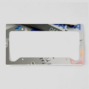 Bank cards License Plate Holder
