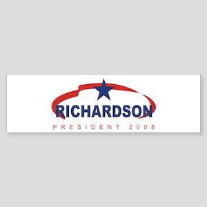 2008 Bill Richardson (star) Bumper Sticker