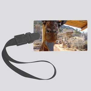 Giraffe Large Luggage Tag