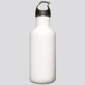 196 Point White Stainless Water Bottle 1.0L
