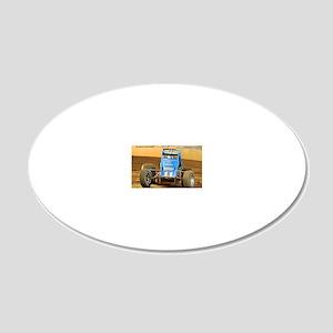 January 20x12 Oval Wall Decal