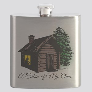 A Cabin of My Own Flask