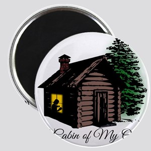 A Cabin of My Own Magnet