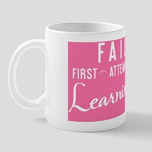 small framed print FAIL First Attempt I Mug