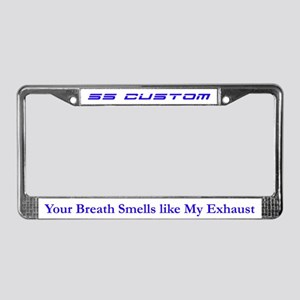 Your Breath Smells Like My Exhaust (BLUE ON WHITE)