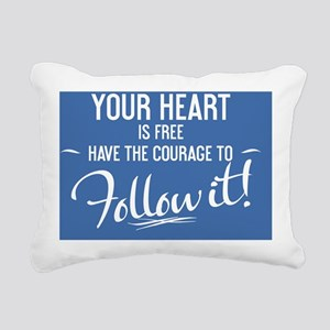 small framed print Your  Rectangular Canvas Pillow