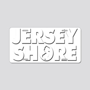 JERSEY SHORE Aluminum License Plate