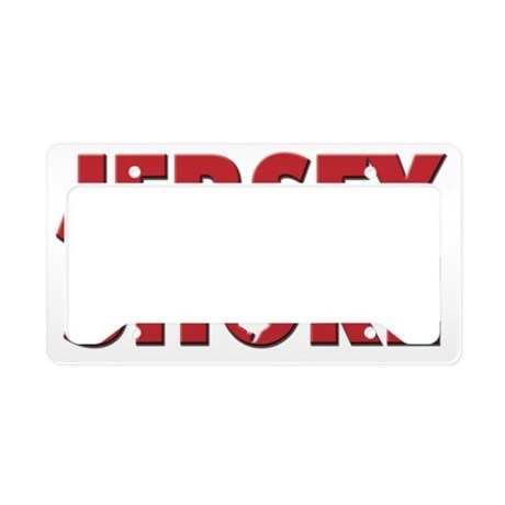 JERSEY SHORE License Plate Holder