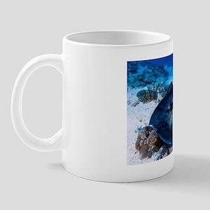 Black blotched stingray Mug