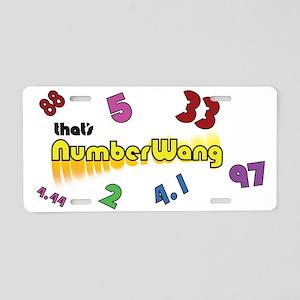Numberwang ! Aluminum License Plate