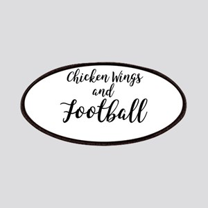Chicken Wings & Football Patch