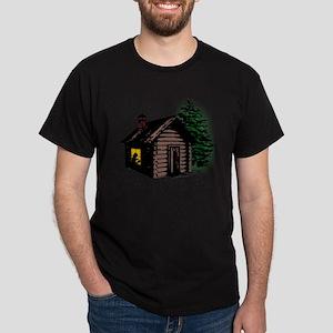 A Cabin of my own Dark T-Shirt