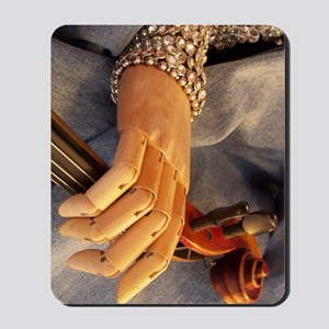Art Hand and Scroll Mousepad