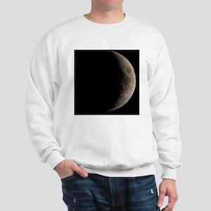 Waxing crescent Moon Sweatshirt