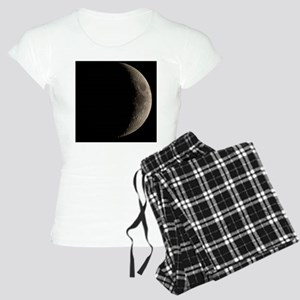 Waxing crescent Moon Women's Light Pajamas