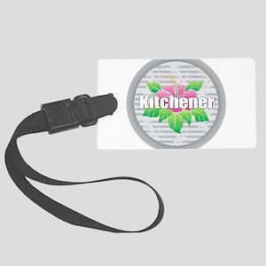 Kitchener - Hibiscus Large Luggage Tag