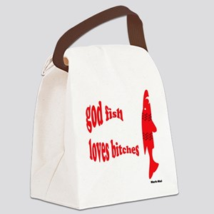 fish Canvas Lunch Bag