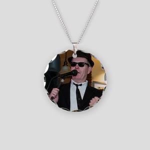 Jake raps Necklace Circle Charm