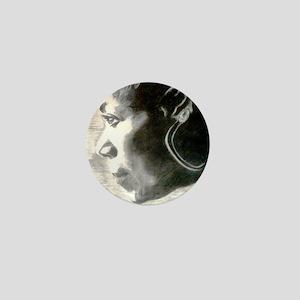 Wilma Rudolph Mini Button