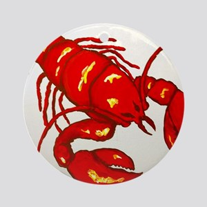 Lobster Round Ornament