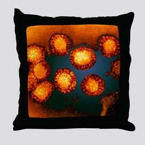 West Nile viruses Throw Pillow