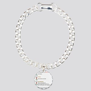 Call to Action - Cure Ch Charm Bracelet, One Charm