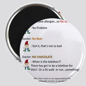Call to Action - Cure Chocolate Allergy! Magnet