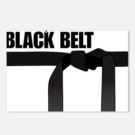 Black Belt Postcards (Package of 8)