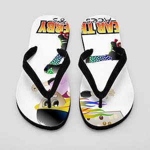 Rollergirl Flip Flops
